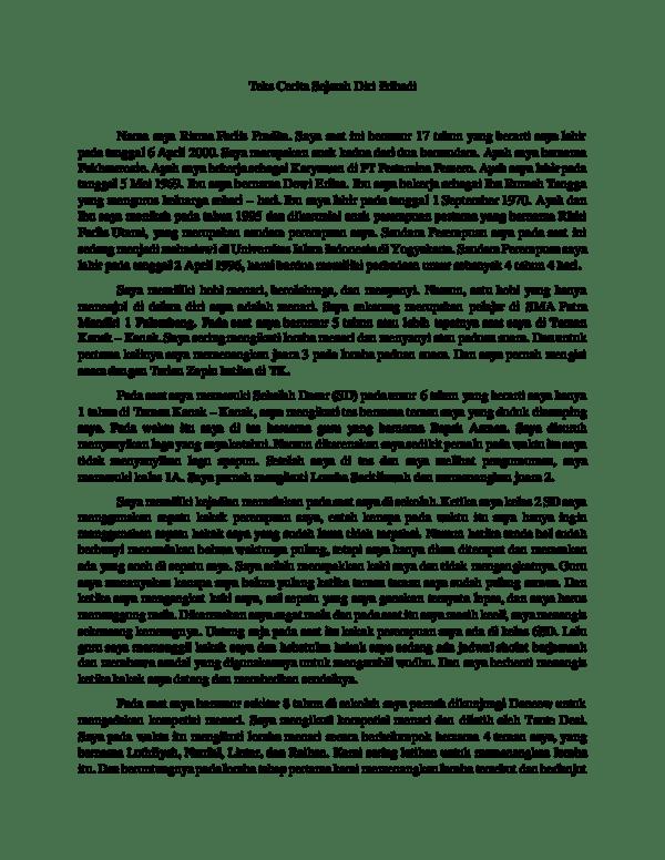 contoh kerangka novel sejarah pribadi - DosenPendidikan.Com
