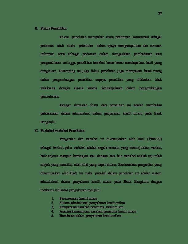 Contoh Fokus Penelitian : contoh, fokus, penelitian, Fokus, Penelitian, Marjoyo, Academia.edu
