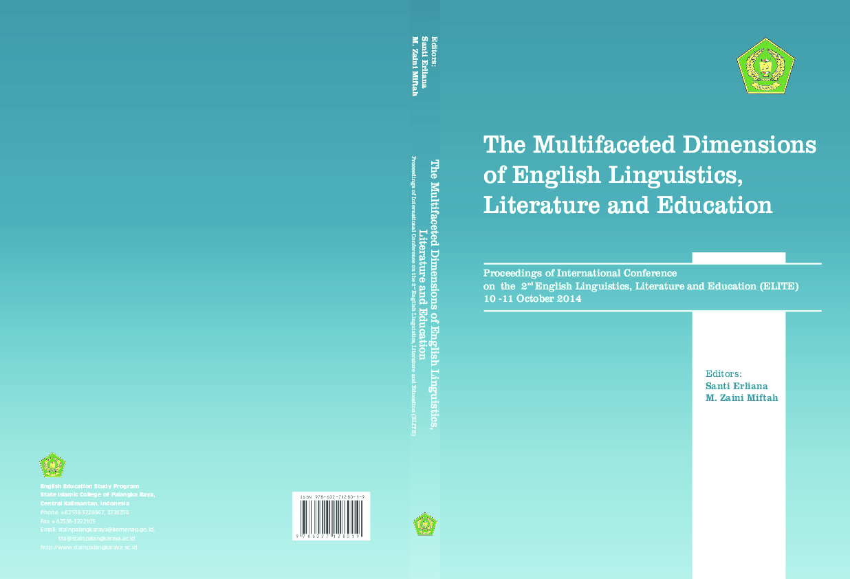 Pdf The Multifaceted Dimensions Of English Linguistics