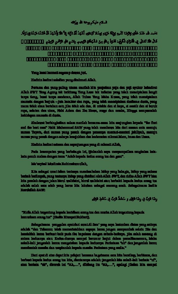 Hadits Ridho Orang Tua : hadits, ridho, orang, Hadits, Ridho, Allah, Tergantung, Orang, Nusagates