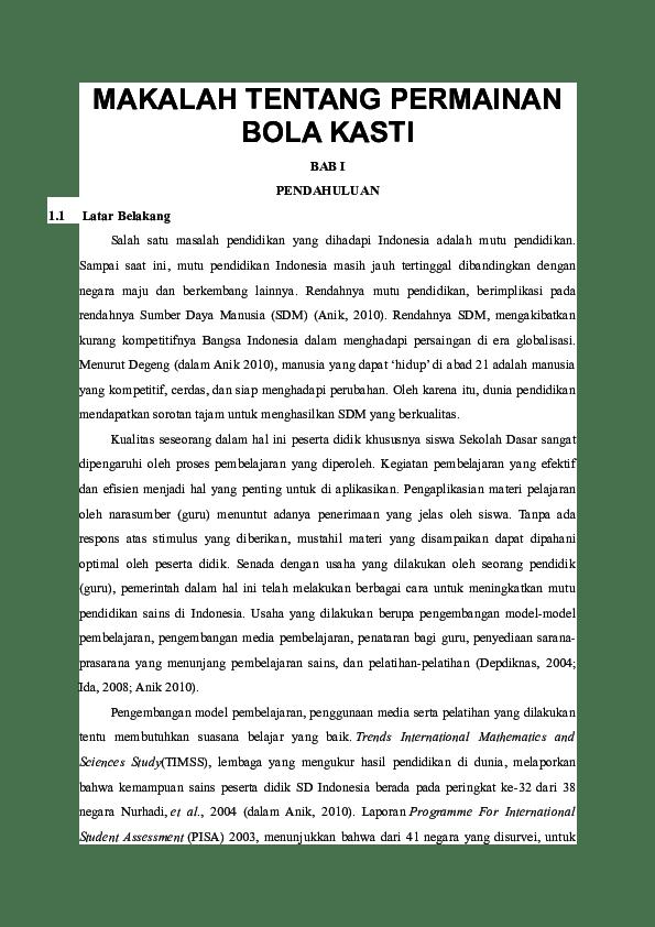 Makalah Bola Kasti : makalah, kasti, MAKALAH, TENTANG, PERMAINAN, KASTI, Andesum, Academia.edu