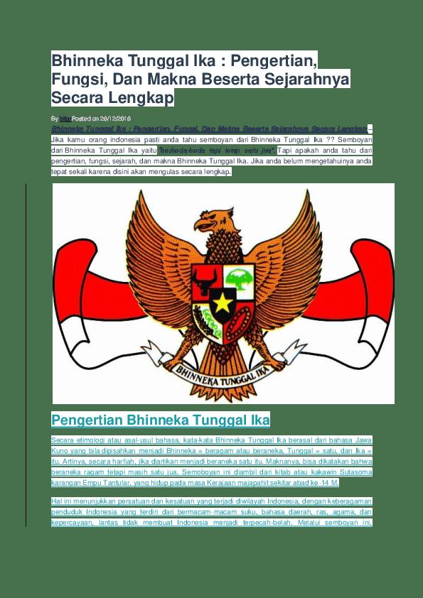 Jelaskan Semboyan Bangsa Indonesia Beserta Artinya : jelaskan, semboyan, bangsa, indonesia, beserta, artinya, Bhinneka, Tunggal, Semboyan, Perekat, Beragam, Perbedaan, Dokter, Andalan