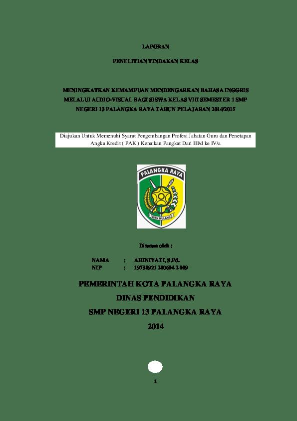 RPP Bahasa Inggris Kelas 9 SMP Bab 3 Kurikulum 2013