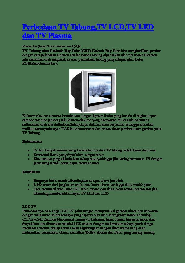 Cara Membersihkan Layar Tv Led : membersihkan, layar, Reality, Televisoin, Research, Papers, Academia.edu