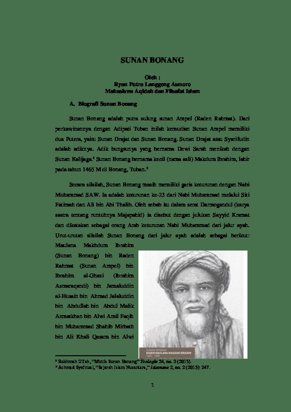 Sejarah Dan Kisah Sunan Kalijaga - berwirausaha