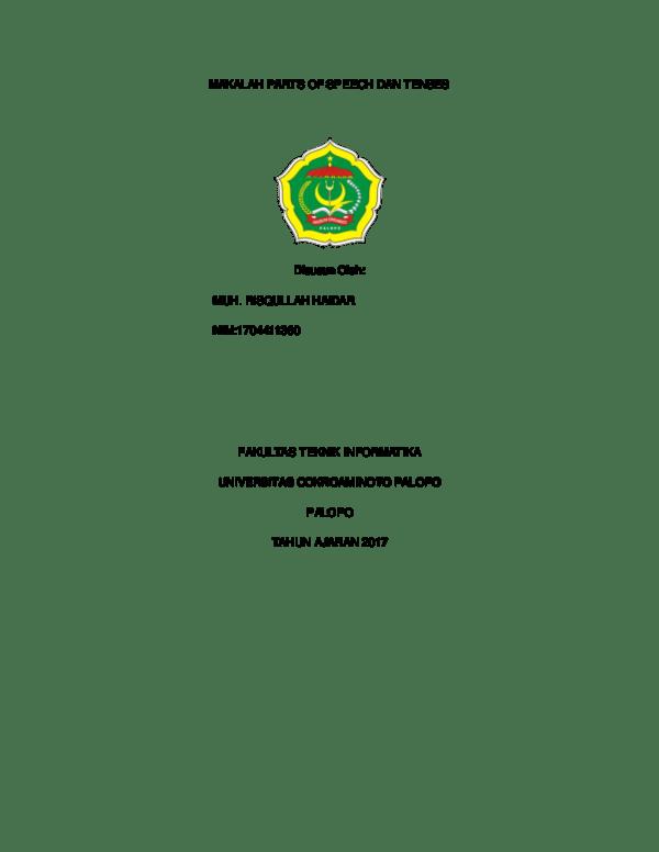 Makalah Part Of Speech : makalah, speech, MAKALAH, Risqullah, Academia.edu