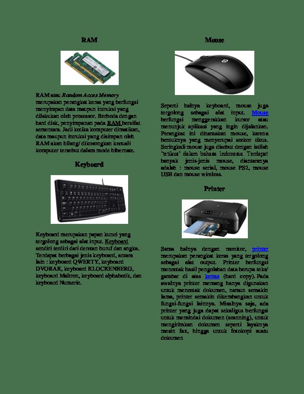 Perangkat Input Komputer Adalah : perangkat, input, komputer, adalah, Perangkat, Komputer, Digunakan, Sebagai, Input, Berbagai