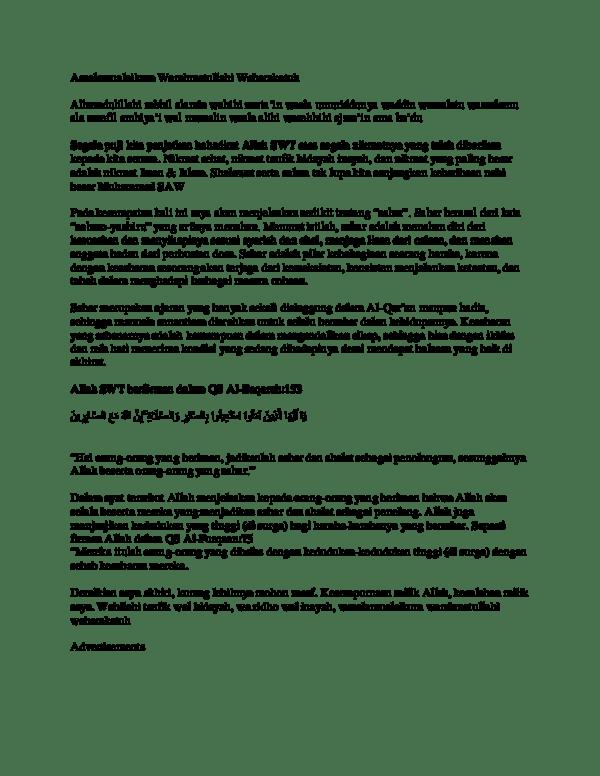 Alhamdulillahirobbil Alamin Artinya : alhamdulillahirobbil, alamin, artinya, Assalamualaikum, Warahmatullahi, Wabarakatuh, Alvira, Academia.edu
