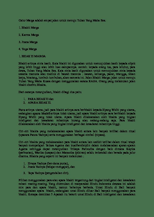 Bagian-bagian Catur Marga Yoga : bagian-bagian, catur, marga, Mengimplementasikan, Ajaran, Jnana, Marga, Cara.Lif.co.id