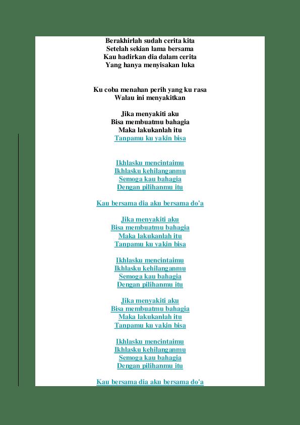 Lirik Cinta Dalam Doa : lirik, cinta, dalam, Lirik, Cinta, Dalam, Dewa_, Gaming, Academia.edu