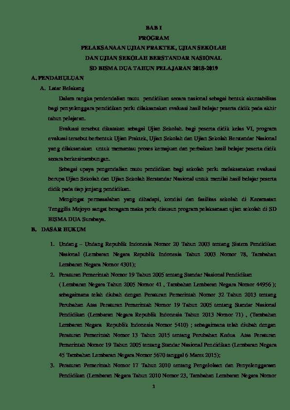Contoh Proposal Ujian Praktek Sd Kelas 6 : contoh, proposal, ujian, praktek, kelas, Proposal, Ujian, 2018-2019, Edit.docx, Kholid, Hamdi, Academia.edu
