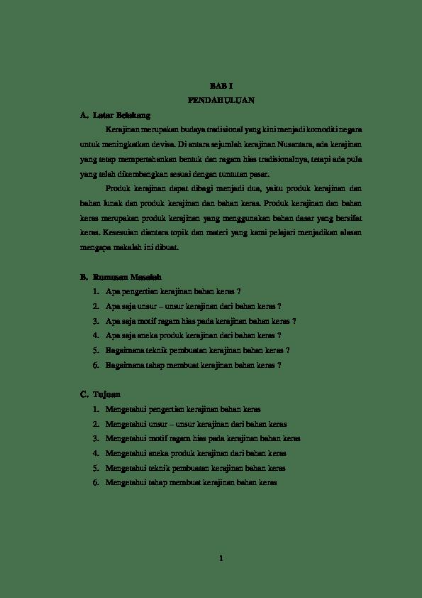 Makalah Kerajinan Bahan Keras : makalah, kerajinan, bahan, keras, Makalah, Kerajinan, Bahan, Keras, ALWAHIDA, Academia.edu