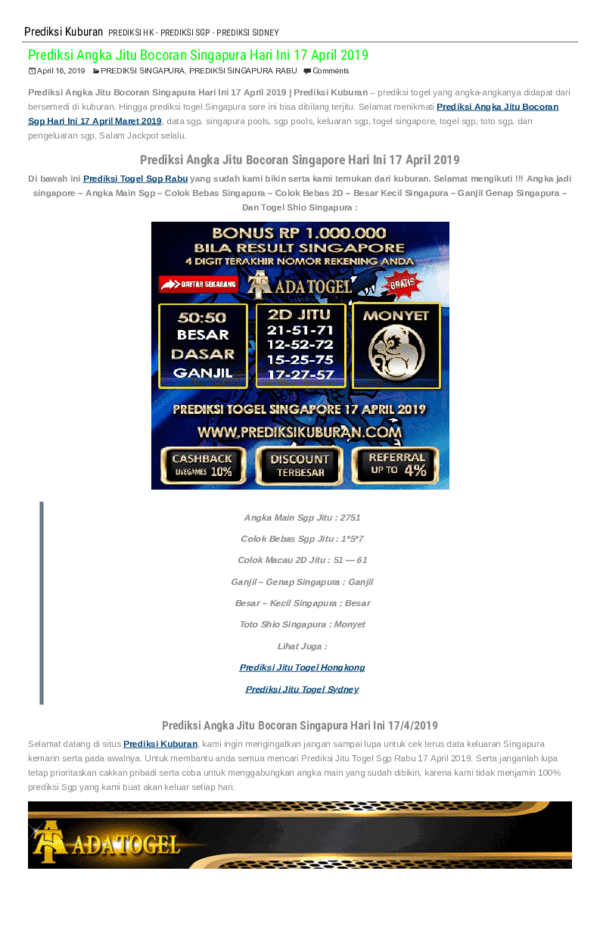 Prediksi Angka Jitu Singapura : prediksi, angka, singapura, Prediksi, Nomor, Singapura, Kamis, Agustus, Bocoran, Angka, Hongkongpools, Cute766