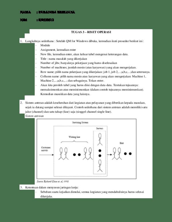 Analisa jaringan kerja (network) ini secara umum sangan membantu dalam: Doc Tugas 3 Riset Operasi Wuling Arista Samarinda Academia Edu