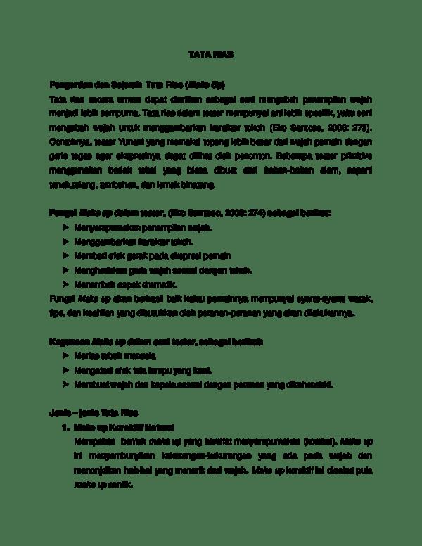 Pengertian Rias : pengertian, Pengertian, Sejarah, (Make, Rizki, Rasyidha, Academia.edu