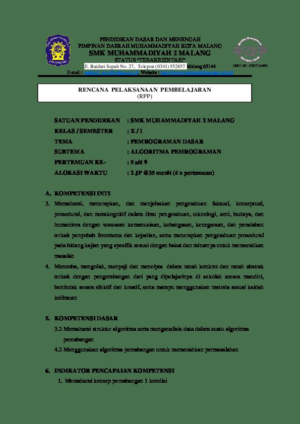 Contoh Soal Essay Pemrograman Dasar Dan Jawabannya Kelas 10 Contoh Soal Terbaru Cute766