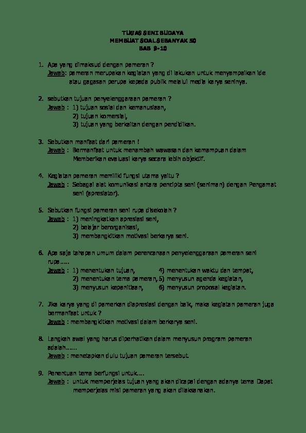 Manfaat Evaluasi Setelah Pelaksanaan Pameran Adalah : manfaat, evaluasi, setelah, pelaksanaan, pameran, adalah, Budaya, Karina, Sefiranti, Yusuf, Musthofa, Academia.edu