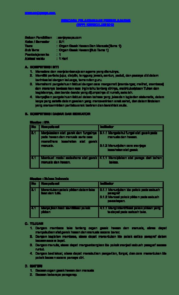 Rangkuman Tema 1 Kelas 5 Organ Gerak Hewan Dan Manusia : rangkuman, kelas, organ, gerak, hewan, manusia, Kelas, Organ, Gerak, Hewan, Manusia, Revisi, 2018.DOC, Sanjaya, Academia.edu