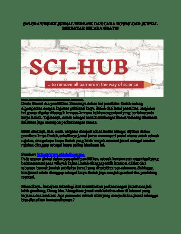 Download Jurnal Gratis Sci Hub : download, jurnal, gratis, Journal, Research, Papers, Academia.edu