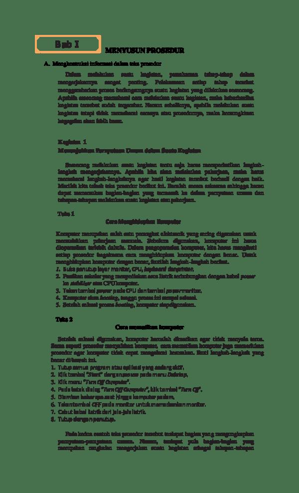 Tuliskan Pengertian Teks Prosedur : tuliskan, pengertian, prosedur, Temukan, Pernyataan, Persuasif, Prosedur, Berwawancara, Kerja, IlmuSosial.id