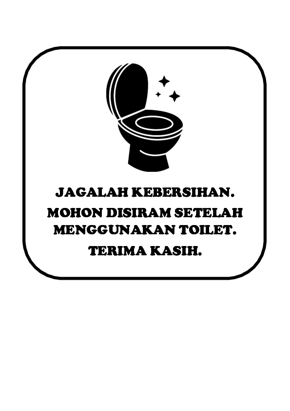 Jagalah Kebersihan Toilet : jagalah, kebersihan, toilet, Himbauan, Toilet, Wahyu, WhyYou, Academia.edu