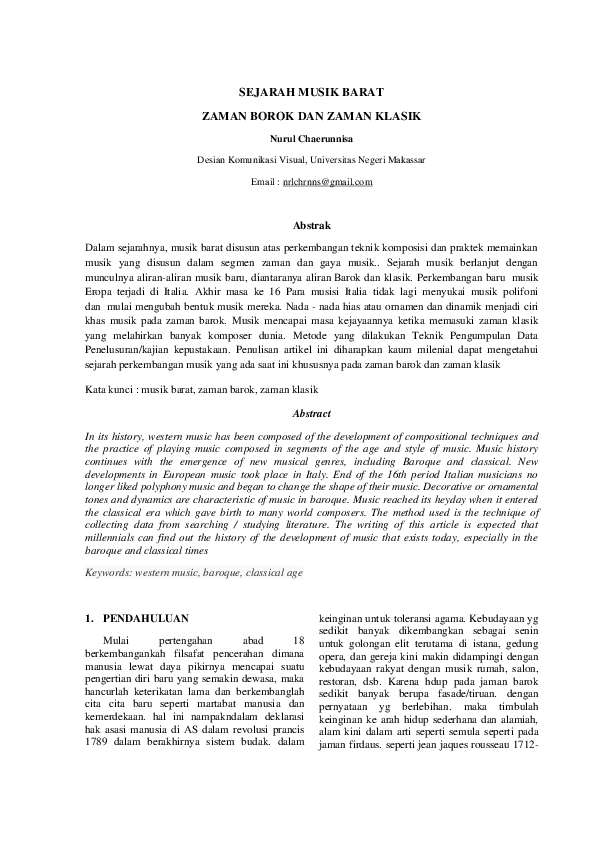 Sejarah Musik Zaman Klasik : sejarah, musik, zaman, klasik, Proisrael, Sejarah, Musik, Barat, Cute766