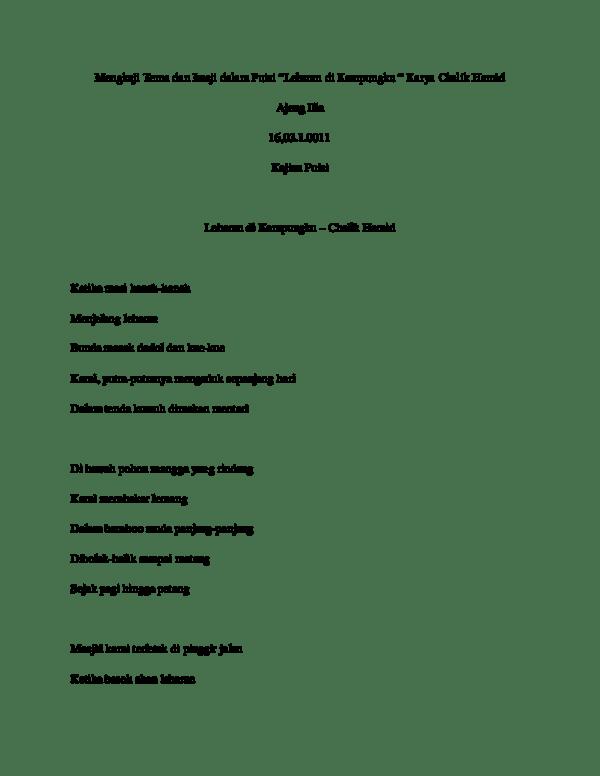 Imaji Dalam Puisi : imaji, dalam, puisi, Imaji, Research, Papers, Academia.edu