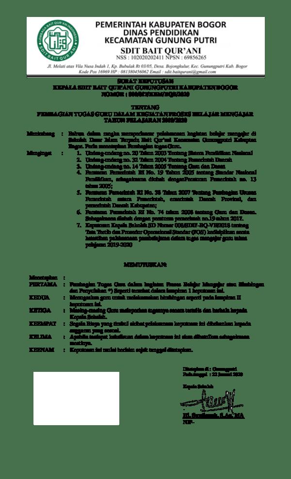 Kode Pos Bojong Kulur Gunung Putri Bogor : bojong, kulur, gunung, putri, bogor, SURAT, KEPUTUSAN, KEPALA, QUR'ANI, GUNUNGPUTRI, KABUPATEN, BOGOR, Academia.edu