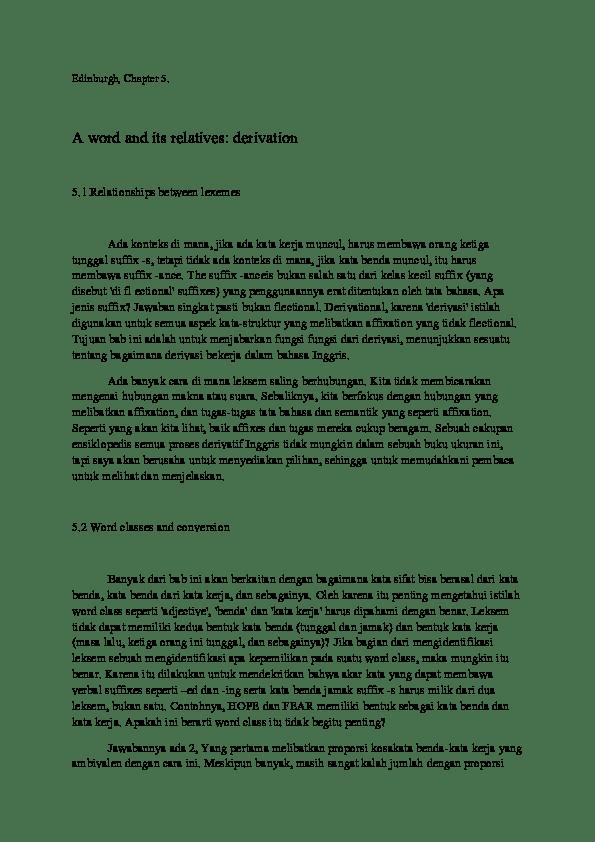 Cara Mengetahui Jumlah Kata Dalam Word : mengetahui, jumlah, dalam, Indonesia, University, Education, English, Academia.edu