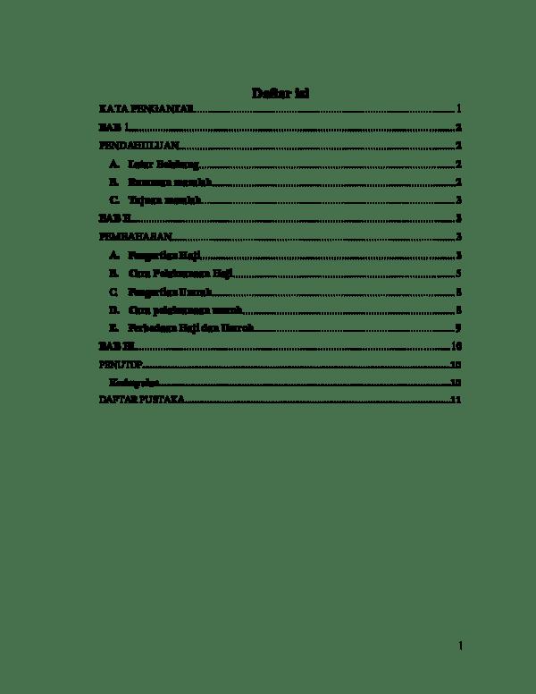 Makalah Haji Dan Umroh : makalah, umroh, MAKALAH, UMROH, Assegaf, Academia.edu