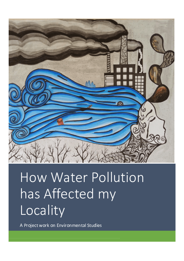 pdf how water pollution has affected