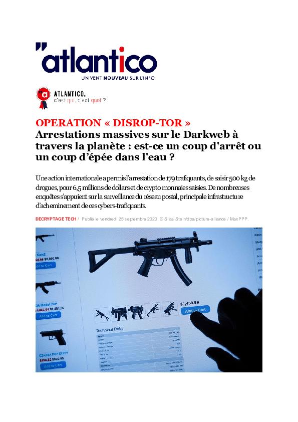 Dark Web C Est Quoi : Research, Papers, Academia.edu