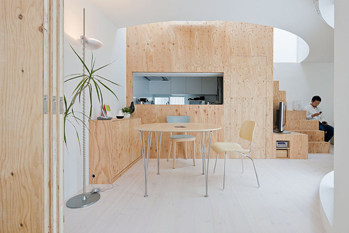 Add Some Warmth: 12 Plywood Interiors in interior design featured architecture Category