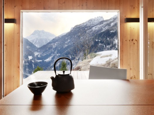 Former Army Building Becomes a Modern Mountain Home in interior design architecture Category