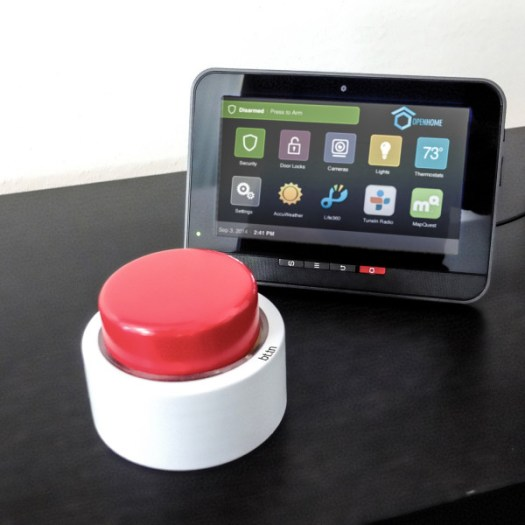 The Internet of Things Simplified Into One Red bttn in technology main Category