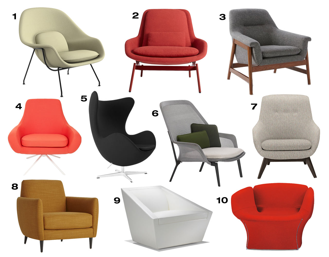 Cozy Chairs Get Comfy 10 Cozy Modern Armchairs Design Milk