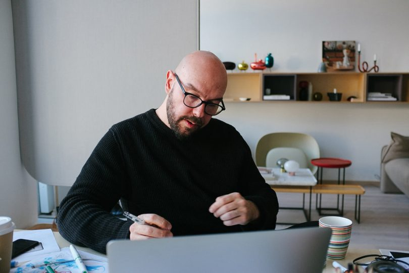 Where I Work: Luca Nichetto