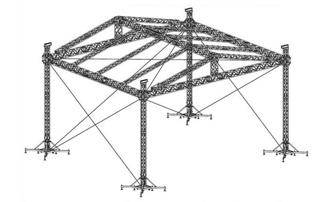 NEWS--Aluminum Stage Truss Suppliers--PIPE AND DRAPE 2.0