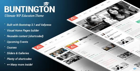 Interested in Buntington WordPress theme