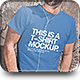 Download T-Shirt Mock-up from GraphicRiver