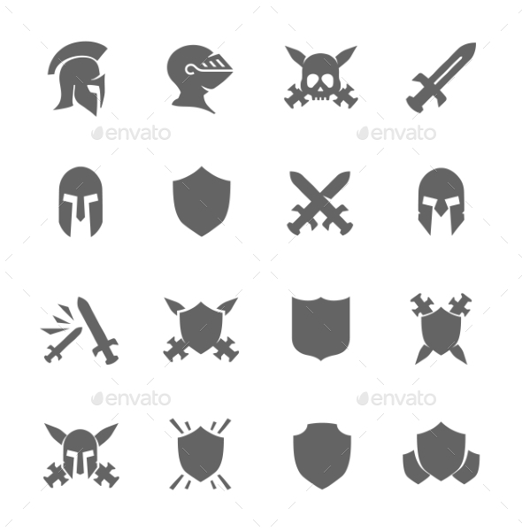 War Icons (Man-made objects) Download ~ Best GFX Download