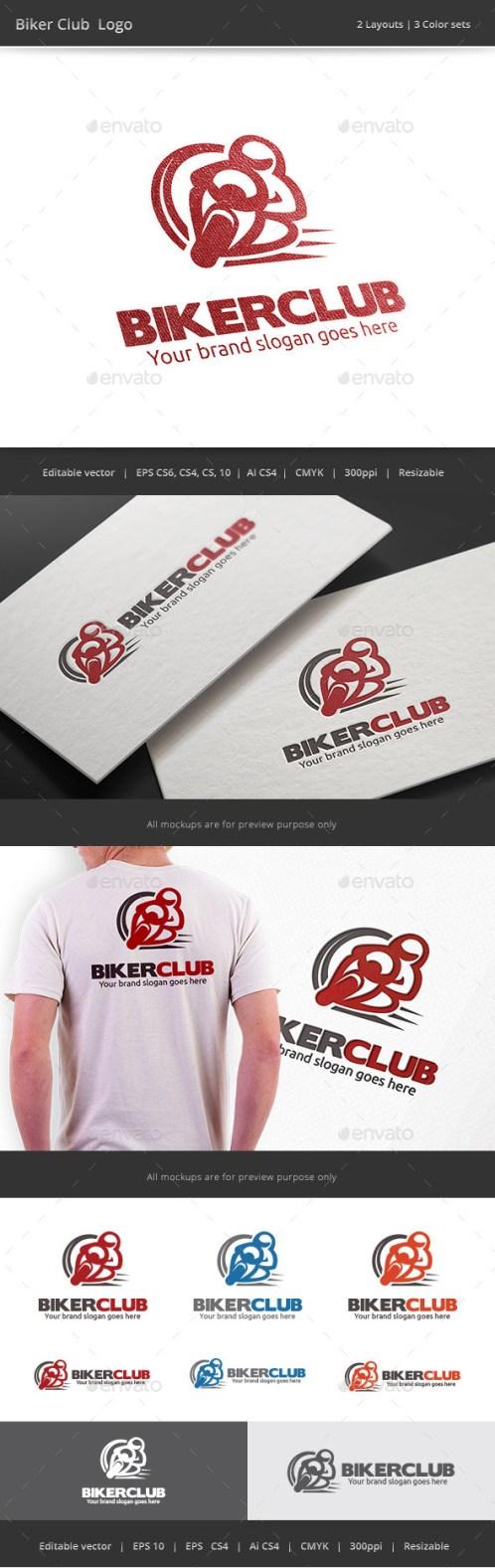 Logotipos para Clubes de Motoristas.