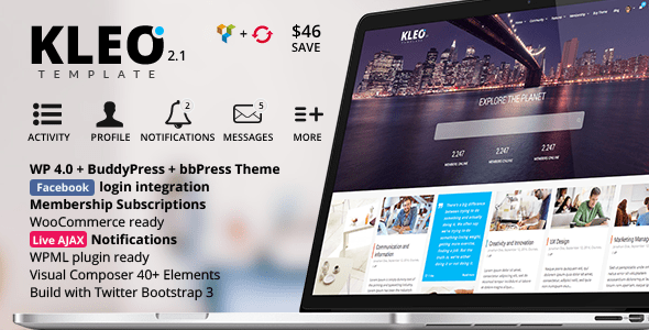 KLEO – Next level Premium WordPress Theme