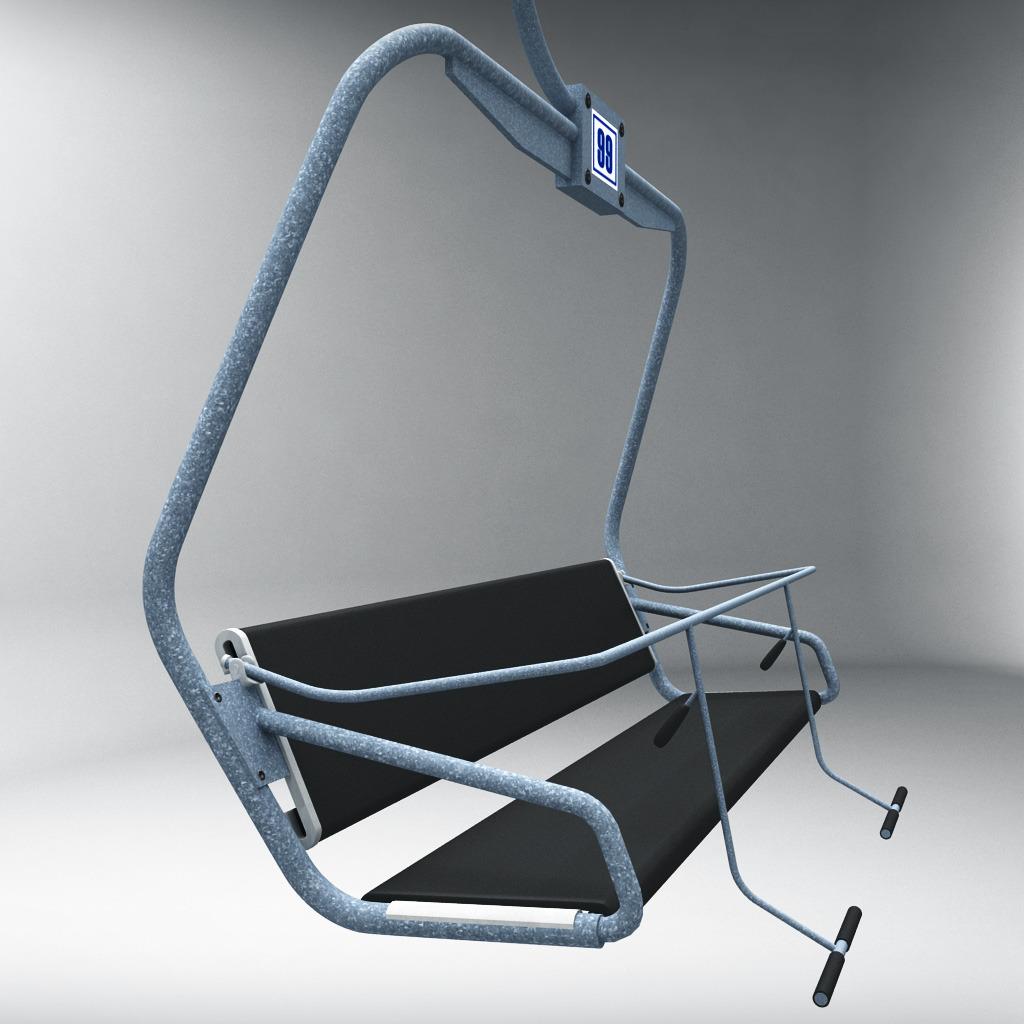 ski chair lift swivel walmart by kr3atura 3docean