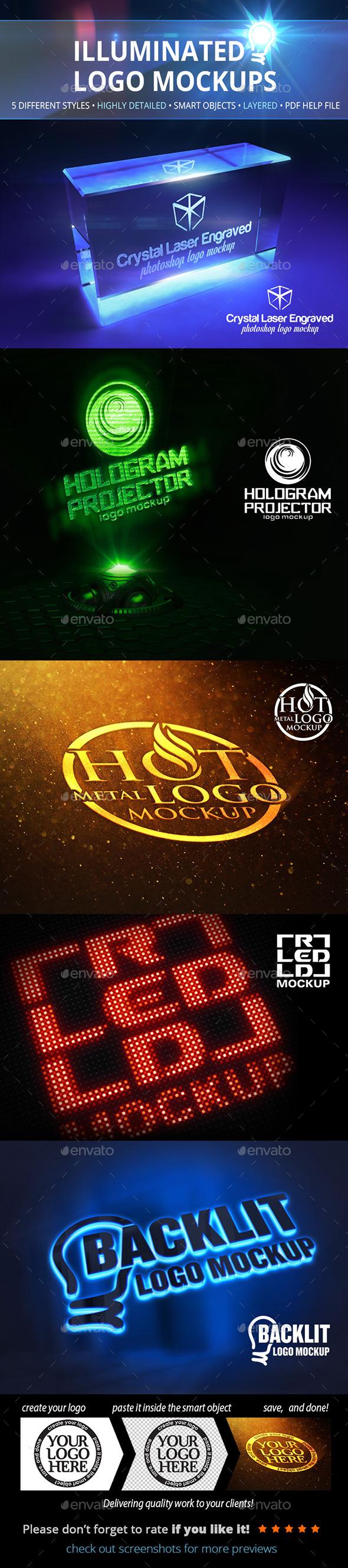 Logo mockups