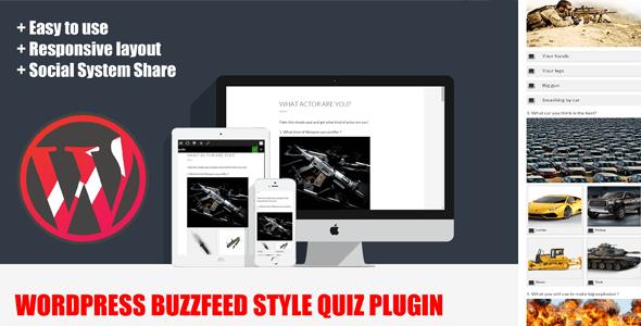 Wordpress BuzzFeed Style Knowledge Test Plugin 5