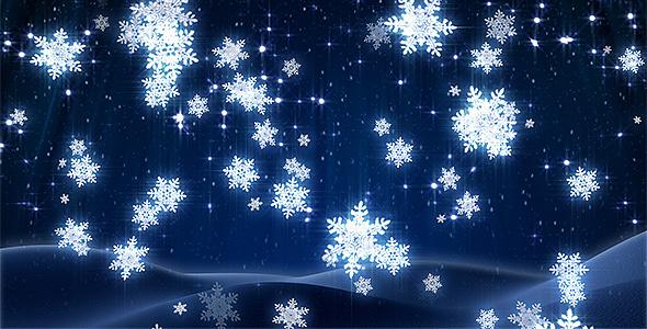 Animated Snow Falling Wallpaper Free Download Winter Snowflakes Loop By Kurbatov Videohive