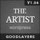 The Artist - Clean Responsive Portfolio Theme