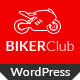 Download Biker Club - WordPress theme from ThemeForest