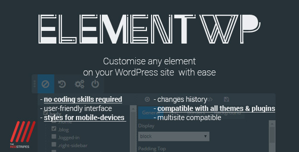 ElementWP - Customize any element on your WordPress website - CodeCanyon Item for Sale